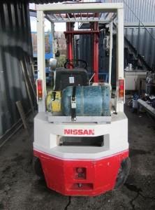 Vysokozdvižný vozík NISSAN zadný pohľad