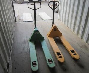 Paletové vozíky na prenájom.